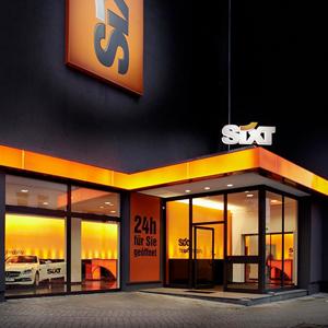SIXT GmbH Hauptverwaltung und diverse Filialen